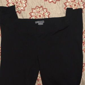 Vince black leggings size small